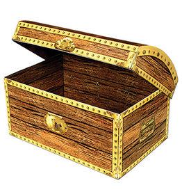 """Beistle Treasure Chest - 8"""" x 5.5"""""""