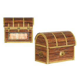 Beistle Pirate Treasure Chest Favor Boxes - 4ct.