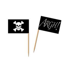 Beistle Pirate Flag Picks - 50ct.