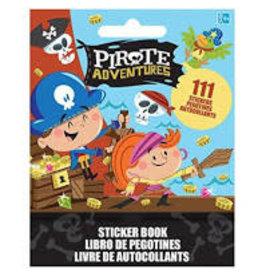 Amscan Pirate Sticker Book - 111ct.