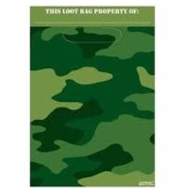 Amscan Camouflage Loot Bags - 8ct.