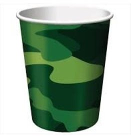 Amscan Camouflage 9oz Cups - 8ct.