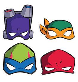 Amscan Rise Up TMNT Masks - 8ct.