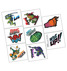 Amscan Rise Up TMNT Tattoos - 8ct.