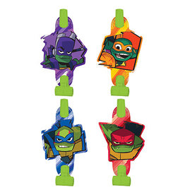 Amscan Rise Up TMNT Blowouts - 8ct,