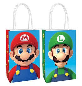 Amscan Super Mario Kraft Bag - 8ct.