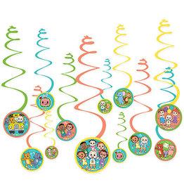 Amscan Cocomelon Swirls - 12ct.