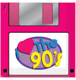 Beistle I Love The 90's Lunch Napkins - 16ct.