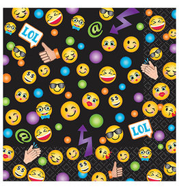 Amscan LOL Emoji Beverage Napkins - 16ct.