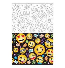 "Amscan LOL Emoji Tablecover - 54"" x 96"""