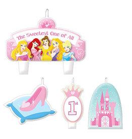 Amscan Disney Princess Candle Set - 4ct.