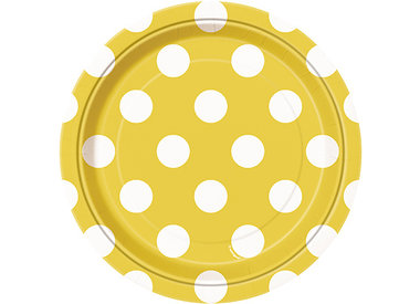 Sunflower Yellow Dots