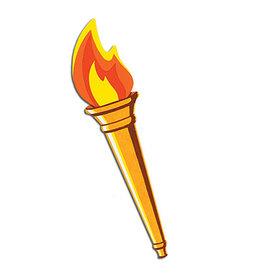 "Beistle Torch Cutout - 24"""