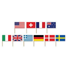 Beistle International Flag Picks - 50ct.