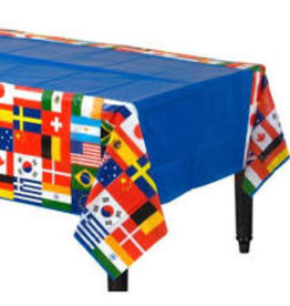 "Beistle International Flag Tablecover - 54"" x 108"""