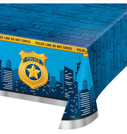 """creative converting Police Party Tablecover - 54"""" x 102"""""""