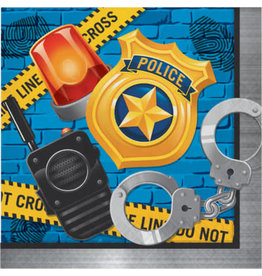 creative converting Police Party Lunch Napkins - 16ct.