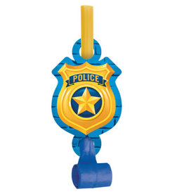 creative converting Police Party Blowouts - 8ct.