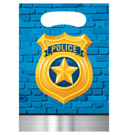 creative converting Police Party Loot Bags - 8ct.