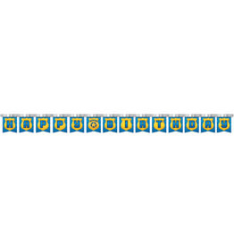 creative converting Police Party Birthday Banner - 8ct.