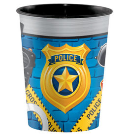 creative converting Police Party 16oz. Favor Cup - 1ct.