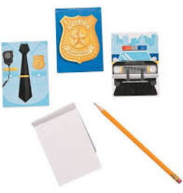 fun express Police Notepad Favors - 12ct.