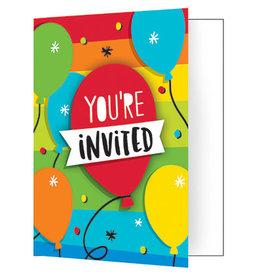 creative converting Hoppin' Birthday Cake Invites - 8ct.