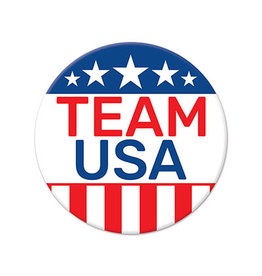 Beistle Team USA Buttons - 5ct.