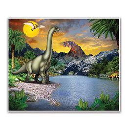 Beistle Dinosaur Background - 5' x 6'