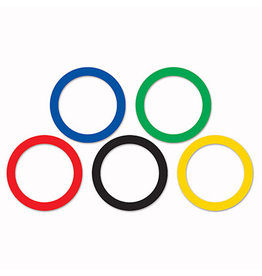 Beistle Large Olympic Party Rings - 15ct.
