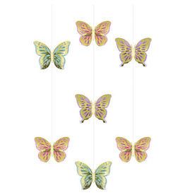 creative converting Butterfly Hanging Cutouts - 3ct.