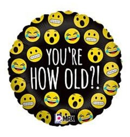 """mayflower 18"""" Emoji You're How Old!?"""