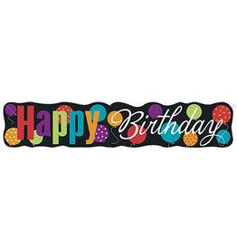 unique Happy Birthday  Banner - 4.5ft.