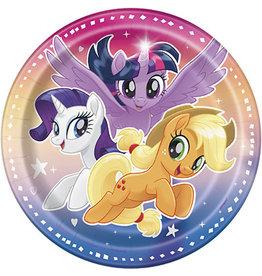 """unique My Little Pony 7"""" Plates - 8ct."""