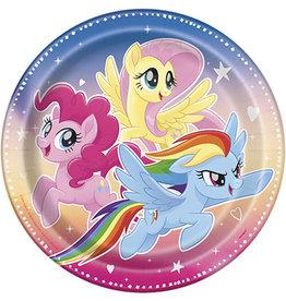 """unique My Little Pony 9"""" Plates - 8ct."""