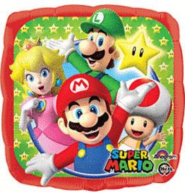 "mayflower 18"" Super Mario Square Mylar"