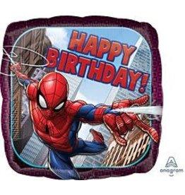 """mayflower 18"""" Marvel Spiderman Birthday Mylar"""