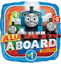 """mayflower 18"""" Thomas The Train Mylar"""