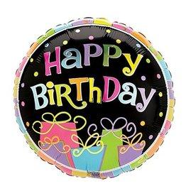 "Burton + Burton 18"" Birthday Bonanza Mylar"
