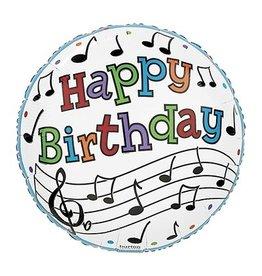 Burton + Burton 18' Jazz It Up Birthday Mylar