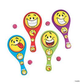 fun express Smiley Face Paddleball Game - 1ct.