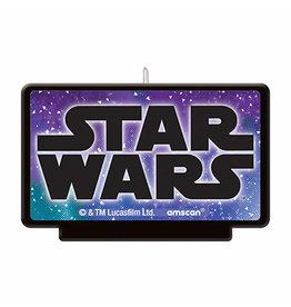 Amscan Star Wars Galaxy Candle - 1ct.