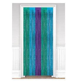 Amscan Sparkling Sapphire Door Curtain - 8ft.