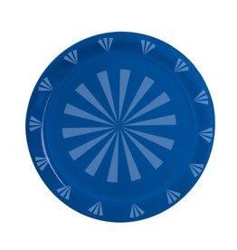 """northwest Blue Round Tray - 12"""""""
