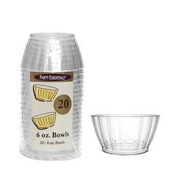 northwest 6oz. Deluxe Clear Bowls - 20ct.
