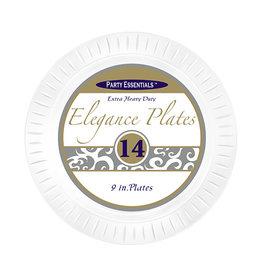 "northwest Clear Elegance 9"" Plates - 14ct."