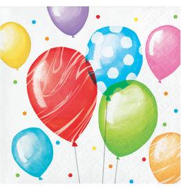 creative converting Balloon Bash Bev. Napkins - 16ct.