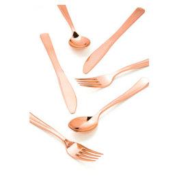 creative converting Rose Gold Sensations Asst. Cutlery - 24ct.