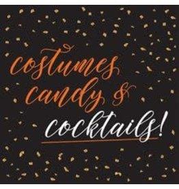 design design Costumes, Candy & Cocktails Bev. Napkins - 16ct.