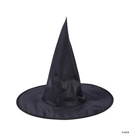 fun express Adult Classic Black Witch Hat